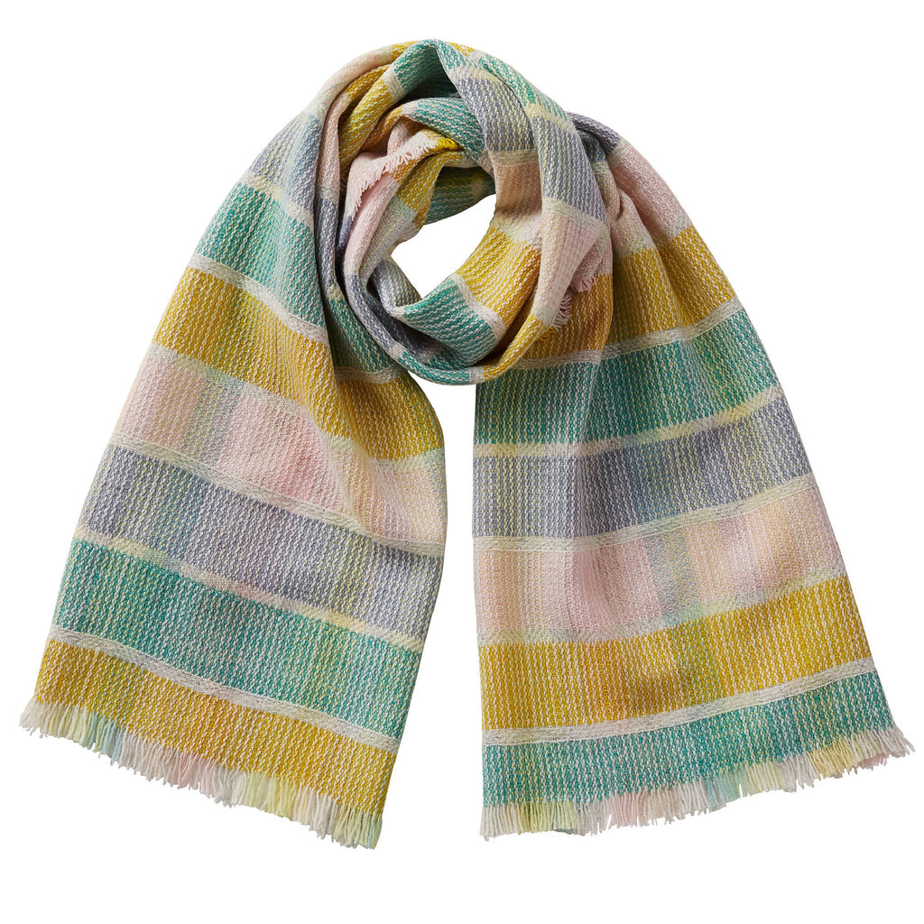 Merino Wool Oversized Scarf Billie Multi