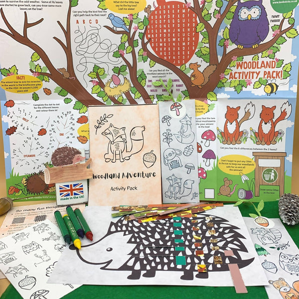 Woodland Adventure Eco-Friendly Activity Pack