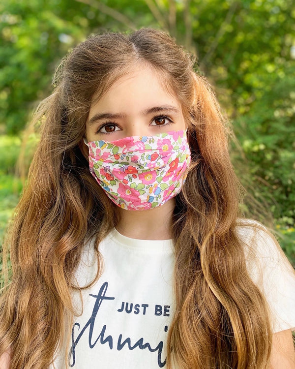 Liberty Print Face Mask (Adult & Kids)