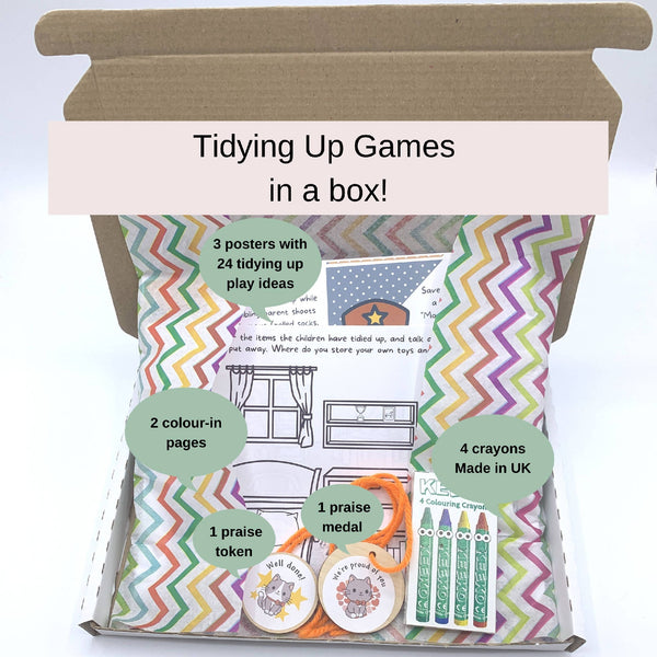 Tidying Up Games in a Box