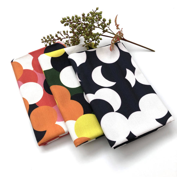 Dotty Tea Towels (Pack Of 3)