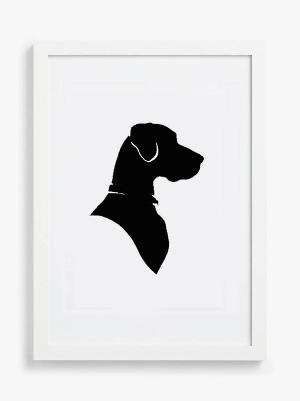 Pet Portrait - Hand Cut Silhouette