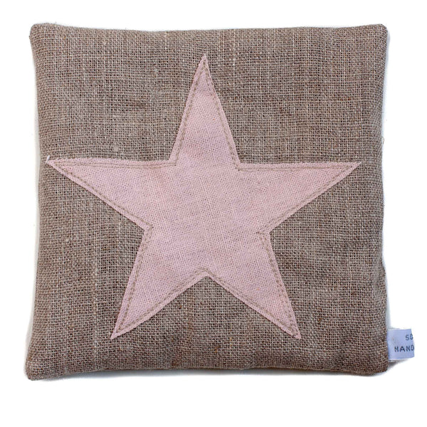 square lavender bag with a star detail
