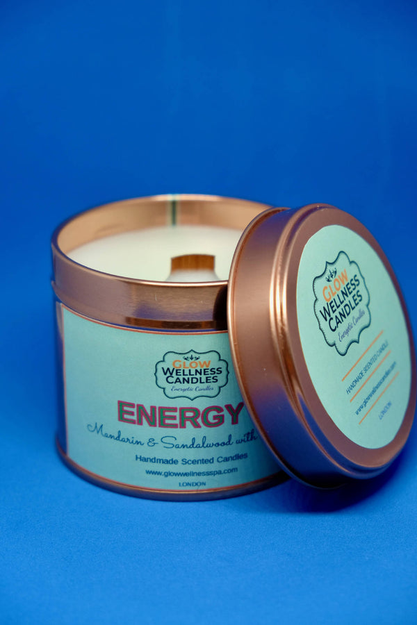 Energy Scented Candle Travel Tin 25cl