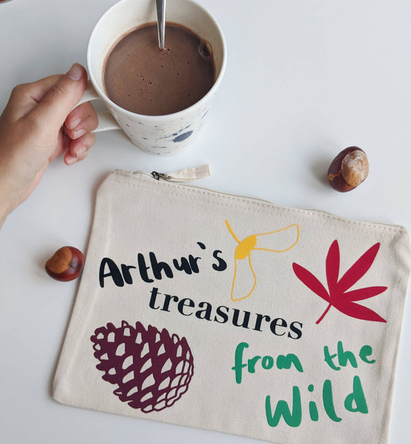 Wild Treasures Custom Pouch