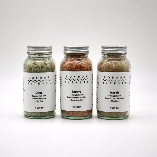Soaking Salts Trio