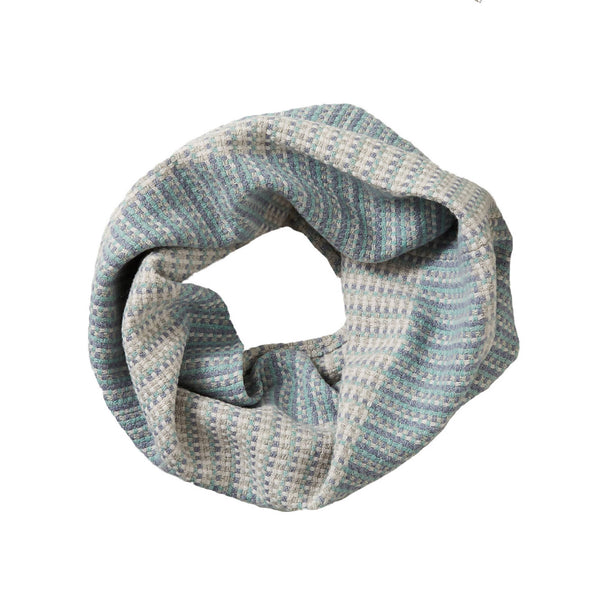 Merino Wool Snood Sali Blue