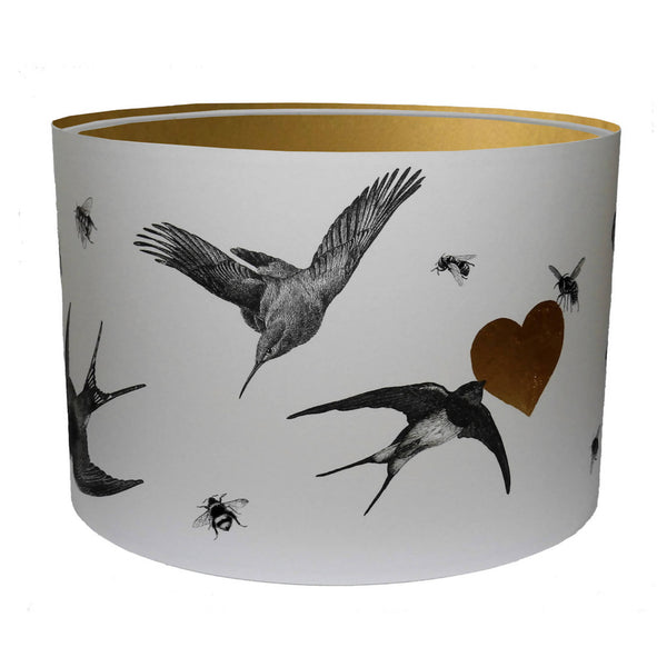 Birds And Bees Lampshade
