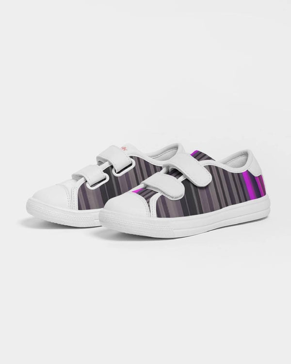 Jellyjaws. UltraViolet - Kids Unisex Velcro Sneakers
