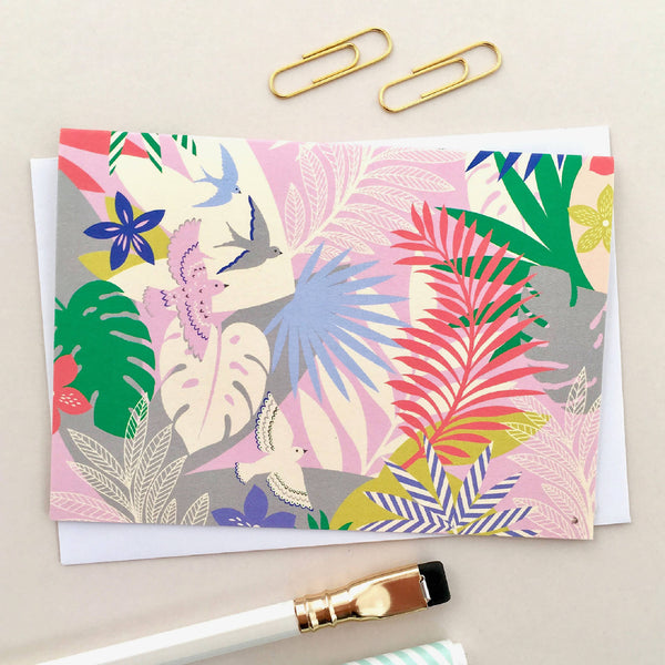 Tropical Paradise Notecards (Pack Of 8)