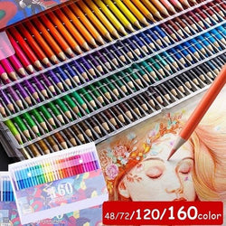 48/72120/160 Colors Colored Draw Pencils