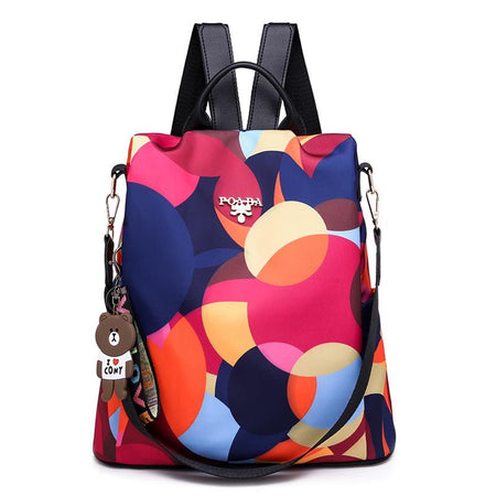 Printing Anti Theft Women's Backpack Bags
