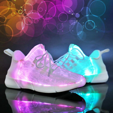 Fashion Luminous Fiber Optic Shoes