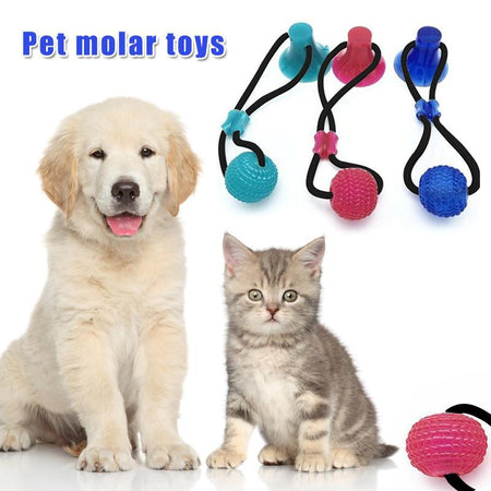 Multifunction Pet Molar Bite Toy Cleaning Teeth Safety Pets Supplies