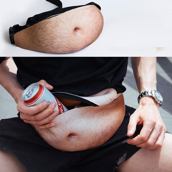 Men Women Fashion Funny Adjustable Belt Waist Bags