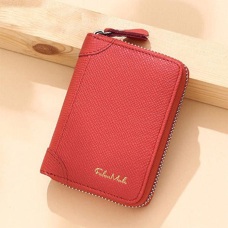 Fashion Multi-Card Slots RFID Protection Wallet