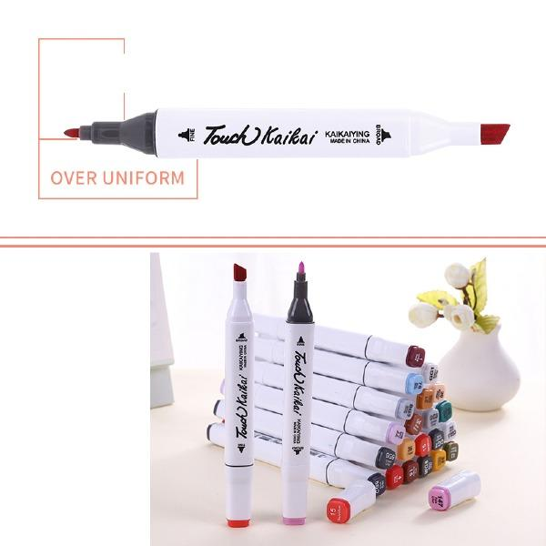 48/60/80Colors Single Art Dual Head Manga Drawing Pens