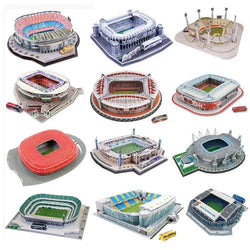 3D Puzzle DIY Assembling Model of Football Field
