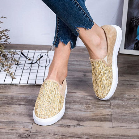Women's Slip-On Low Heel Flats