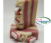 Peppermint Candy Goat Milk Soap