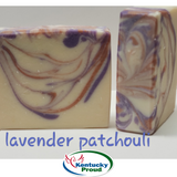 Lavender Patchouli Goat Milk Soap- Faith