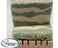 Spearmint Eucalyptus Goat Milk Soap