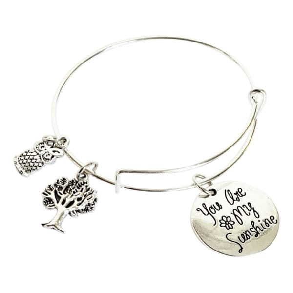 You Are My Sunshine Charm Bracelet