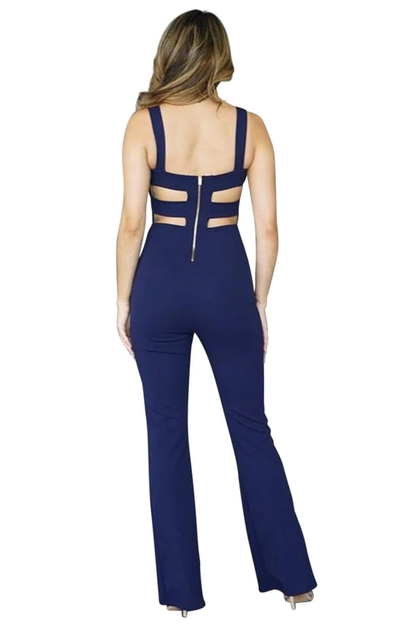 Misha Navy Jumpsuit