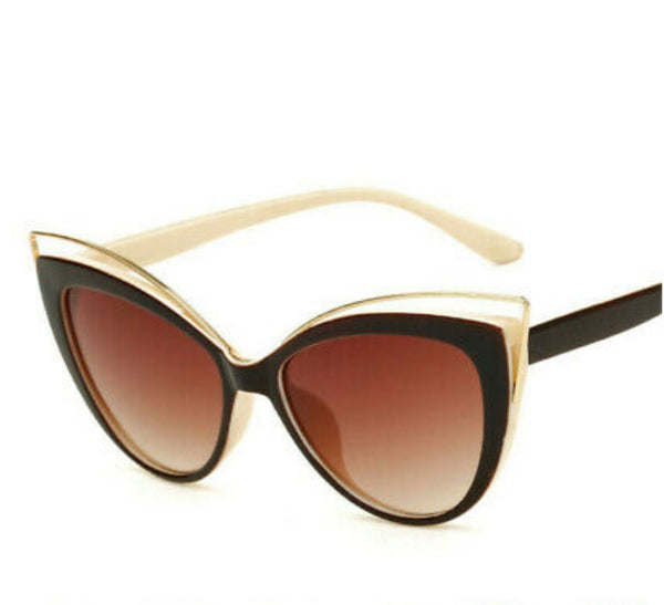 SDM Vintage Retro Cat Eye Sunglasses
