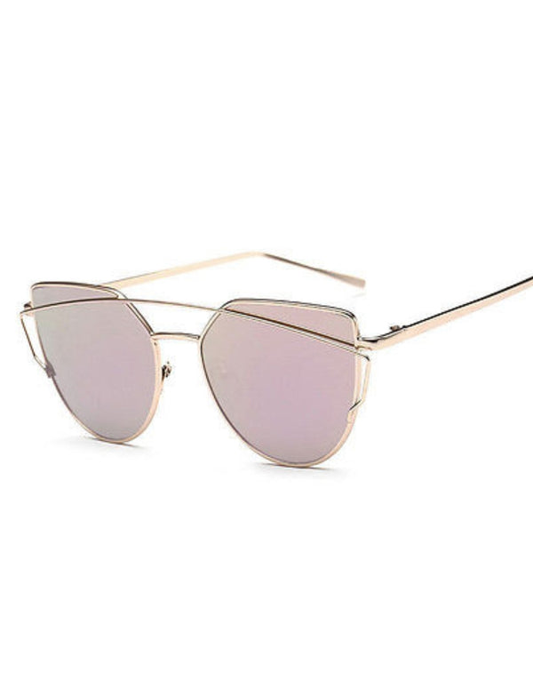 Metal Crossbar Sunglasses