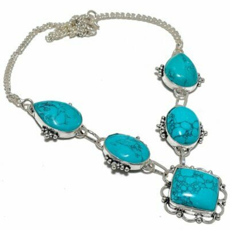 Canyon Turquoise Handmade Necklace