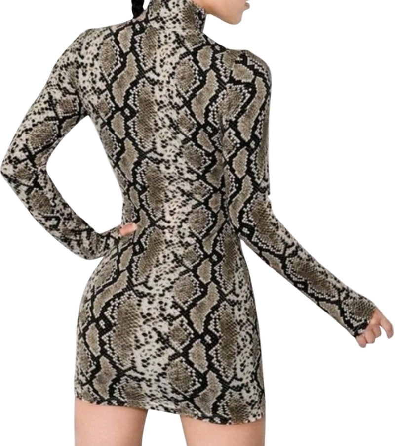 Python Dress By SAM D'MONES