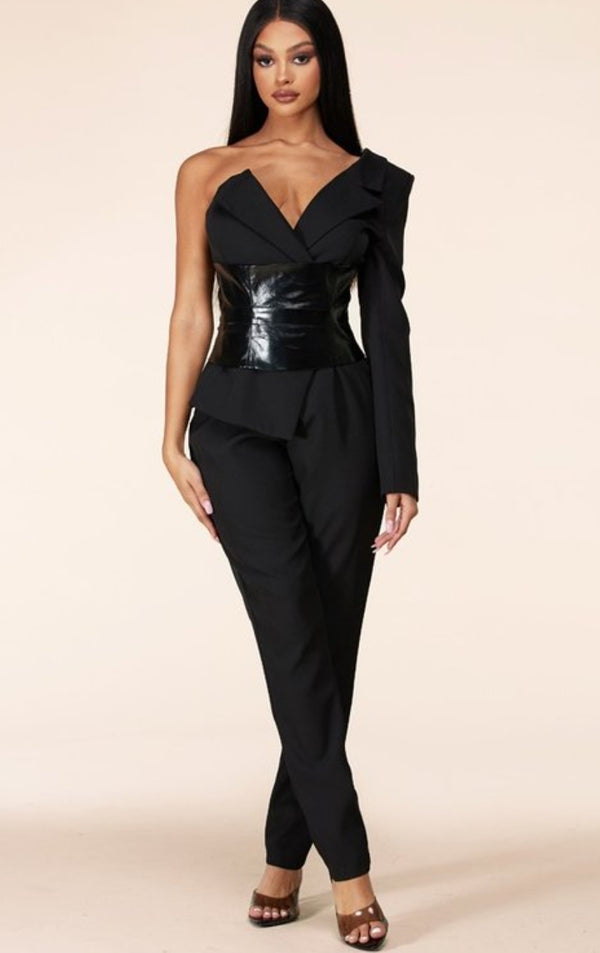 Paulina One-Shoulder Jumpsuit