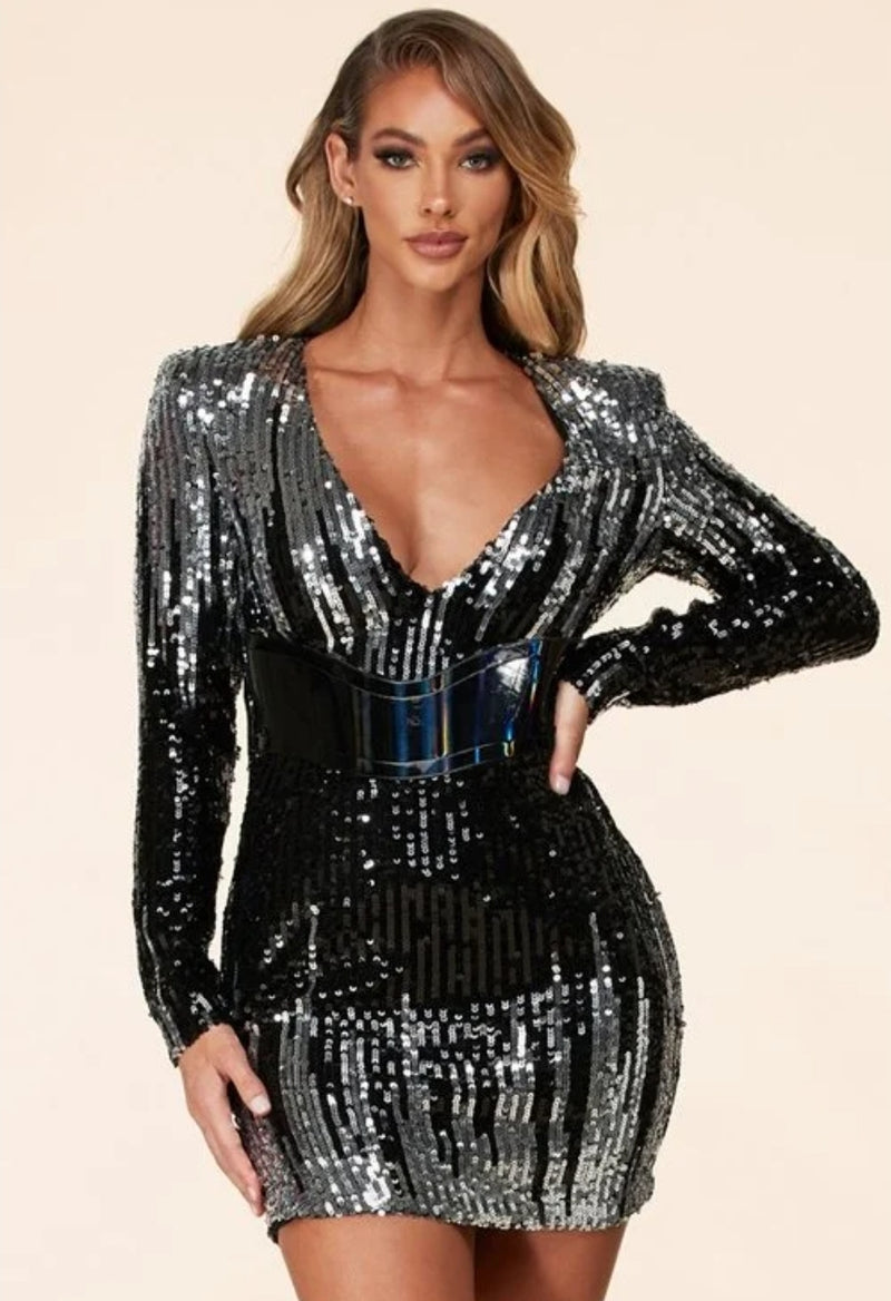 Brianna De Marco Sequin Dress