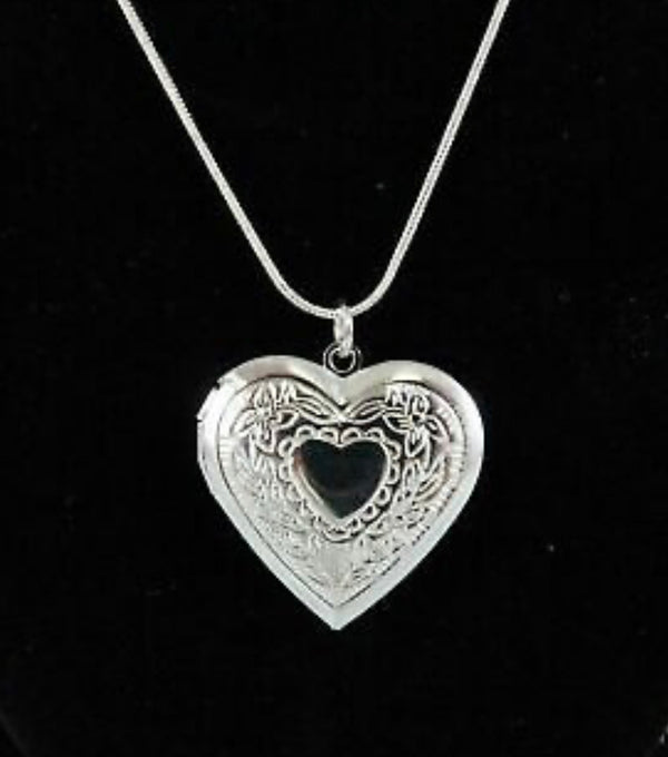 With Me Forever Heart Locket