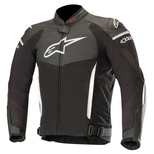 Alpinestars SP X Leather Jacket Black & White