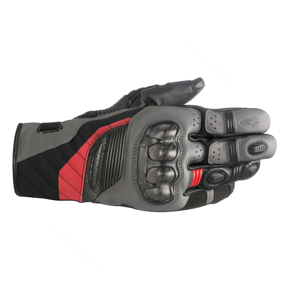 Alpinestars Belize Drystar Gloves Black Anthracite & Red