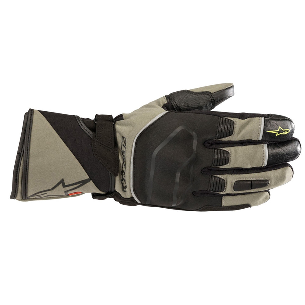 Alpinestars Andes Touring Outdry Gloves Military Green