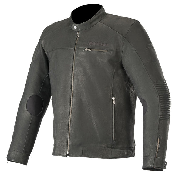 Alpinestars Crazy Eight Leather Jacket Black
