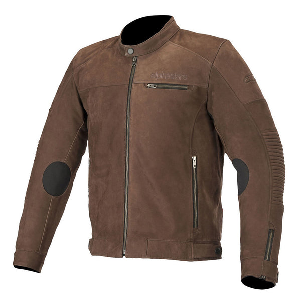 Alpinestars Warhorse Leather Jacket Tobacco Brown