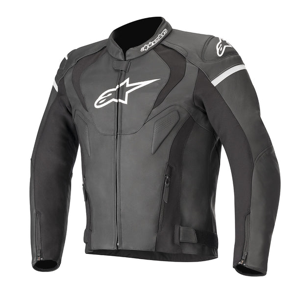 Alpinestars Jaws v3 Leather Jacket Black