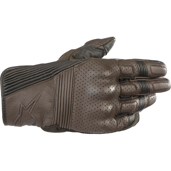 Alpinestars Mustang v2 Gloves Tobacco Brown & Black
