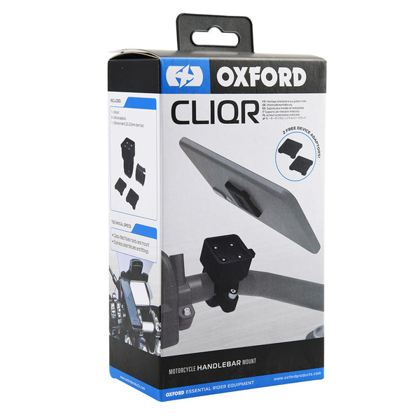 Oxford CLIQR Motorcycle handlebar clamp 22.1mm