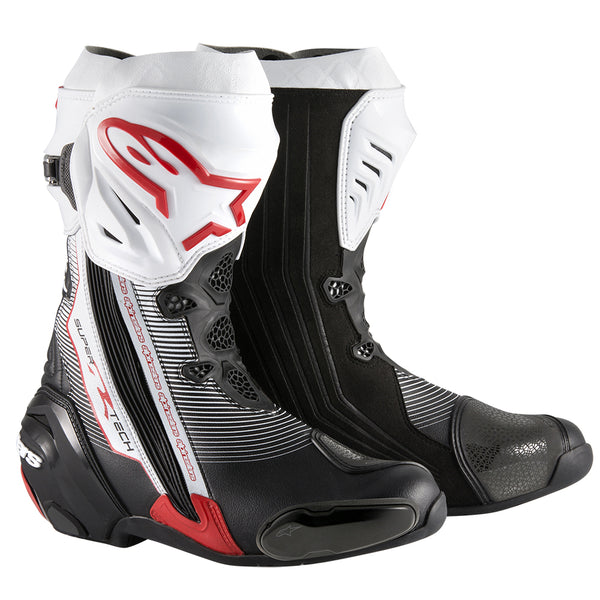 Alpinestars Supertech R Boot Black White Red