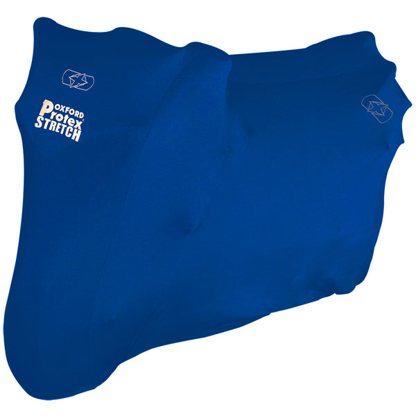 Oxford Protex Stretch Indoor Premium Stretch-Fit Cover Blue