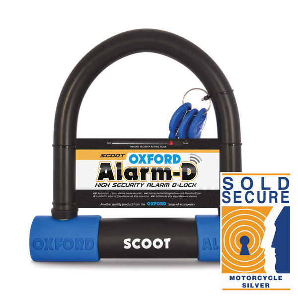 Oxford Alarm-D Scoot (200mmL x 196mmW x 16mm)