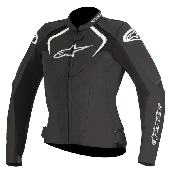 Alpinestars Stella Jaws Leather Jacket Black