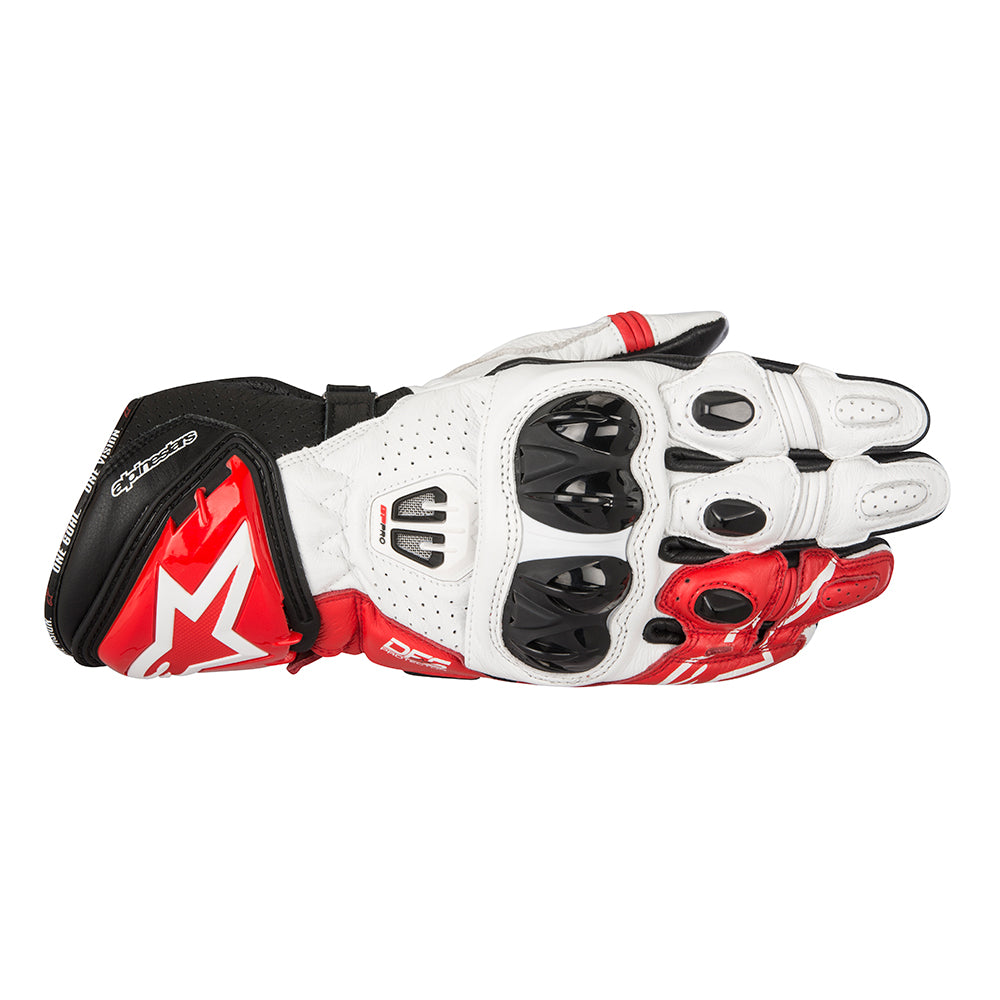 Alpinestars GP Pro R2 Gloves Black White Red