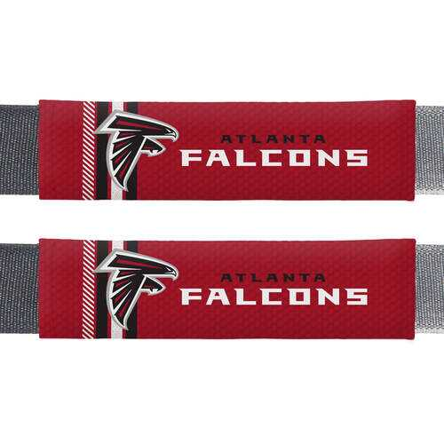 Atlanta Falcons Seat Belt Pads Rally Design