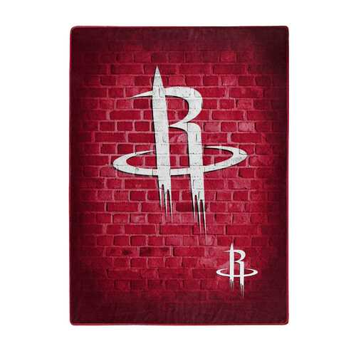 Houston Rockets Blanket 60x80 Raschel Street Design - Teams Sky arrowz - houston rockets blanket raschel street design